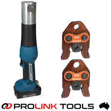 Zupper EZ-1528 Battery Pressing Tool Auspex Rothenberger Viega Plumbing