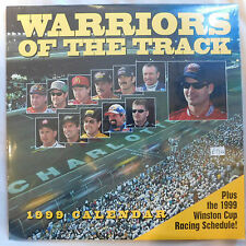 1999 NASCAR Warriors of the track Calendar new Factory Sealed