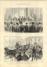 1889 Pres Carnot Fired At Elysee Palace Paris Exhibition Opening Ceremony