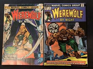 Werewolf By Night - 25, 26 - Marvel Comics