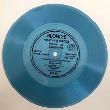 BLONDIE - YULETOWN THROW DOWN (RAPTURE) - FLEXIPOP 15 FLEXI-DISC
