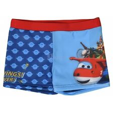 Boys Official Licensed Various Character Swimming Shorts Swim Trunk Shorts Super Wings 3 - 4 Years