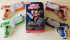 KidzLane Infrared Laser Tag Game Set of 4 Infrared Laser Guns
