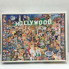 "White Mountain Hollywood Movie Stars 1000-pc Jigsaw Puzzle #254 27""×20"""