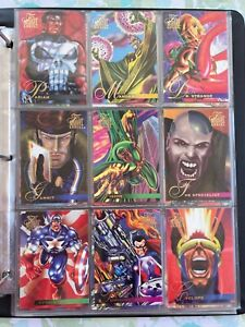Flair 1995 Marvel Universe Some Base Cards And Special Inserts