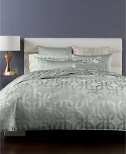 Hotel Collection Full/Queen Duvet Cover Fresco Jacquard Sage L97351