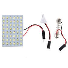 5 pannello LED x 48 Bianco SMD base di 12V + T10 / BA9S festone + modulo d F4W7