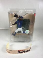 2008 Mcfarlane Mlb Series 21 Alfonso Soriano Action Figure - (Sticker Came Out)