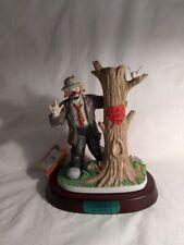 "Emmett Kelly Jr Collector'S Society ""I Love You"" Ltd Ed Flambro Figurine Iob"