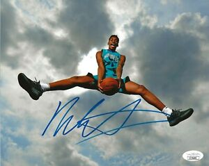 Malik Monk signed Charlotte Hornets 8x10 photo autographed JSA