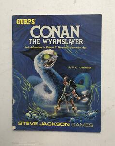 Gurps Conan The Wyrmslayer Solo Adventure in Robert E. Howards Hyborian Age