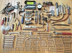 Large Lot of Tools - Pneumatic Wrench & Cut Off Tool, Wrenches, Air Nozzles