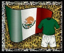 Merlin England (World Cup) 2006 - National Flag - Kit Mexico No. 249
