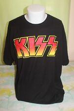 Kiss Band 2016 Men's Black T Shirt Size 2XL RN 117508