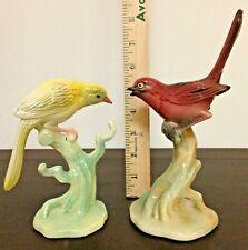 Vintage Brad Keeler Mid Century Modern Pleasing Pair Of Pretty Bird Figurines!