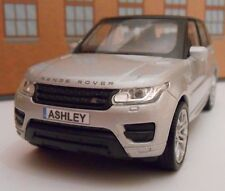 PERSONALISED PLATES RANGE ROVER SPORT Toy Car MODEL boy dad Christmas gift NEW!