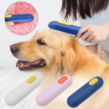 Pet Hair Remover Brush Dog Cat Hair Removal Deshedding Comb for Laundry Couch