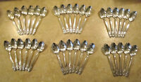 US President Collector Tea Spoons Set 35 Rogers International Silver Silverplate