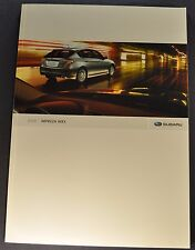2008 Subaru Impreza WRX 30pg Catalog Sales Brochure Excellent Original 08