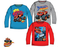 Kids Boys Disney Blaze-Cars Monster Machines Casual T.shirt Tops,3-4-5-6-7-8 yrs