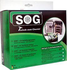 SOG 1 TYp B  Toilettenentlüftung für Thetford C200 Chemiefrei weiß