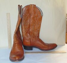 Brown Western COWBOY BOOTS - DAN POST - Size 8 ½ D - I believe to be Ladies size