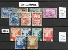 YEMEN @ Nice Sets MNH 1951-1953  Air Mail    @ Yem.10