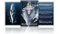 Bicycle Moderna Warships Jugando a las Cartas Póquer Juego de Cartas