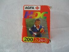 AGFA Germany High Definition Color 24x36 mm Film HDC Plus 200 2x27 Expired 2002