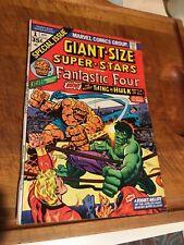 Giant Size Super-Stars Fantastic Four #1 Bronze age Hulk vs Thing Key