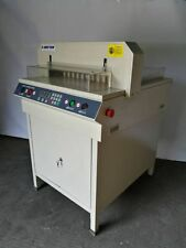 "480mm 18.9"" Paper Guillotine Cutter Sample Machine In Warehouse 90% New"