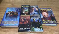 Lot Of 6 Star Trek Voyager Books