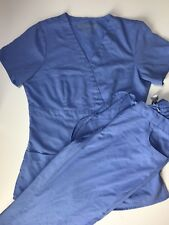 Greys Anatomy Scrubs by Barco set w top and bottom size XS blue nursing uniform