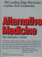 Alternative Medicine : The Definitive Guide  Burton Goldberg 1997 Hardcover NEW