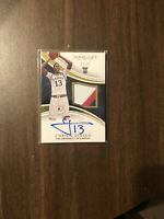 2016-17 Immaculate Collegiate Cheick Diallo 3 Color Patch On Card Auto. # 32/99