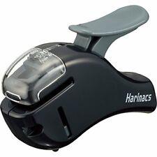 Kokuyo Stapleless Stapler Harinacs Compact Alpha Black Japan Import