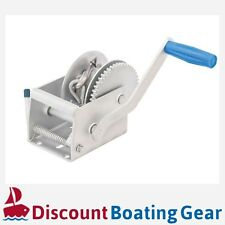 660LBS/300KG Hand Winch 4.1m Cable Manual Car Boat Trailer 4WD 3:1 Tinny