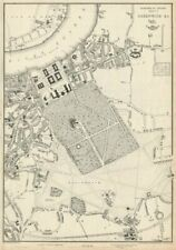 GREENWICH, BLACKHEATH & LEWISHAM. London suburbs.Dispatch Atlas.WELLER 1863 map