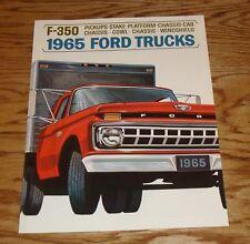 Original 1965 Ford Truck F-350 Sales Brochure 65