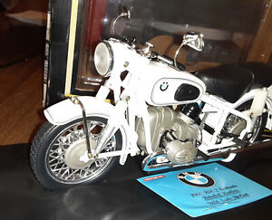 RARE Tootsietoy BMW 1960 R60-2 Motorcylce 1:10 Scale Diecast - Used