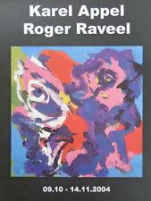KAREL APPEL (1921-2006) & ROGER RAVEEL / EXPO AFFICHE / KLEUROFFSET / 42x30cm