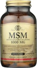 Solgar MSM 1000mg 120 Tablets