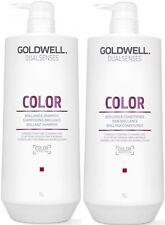 GOLDWELL DUALSENSES COLOR BRILLIANCE SHAMPOO 1 LITRE AND CONDITIONER 1 LITRE