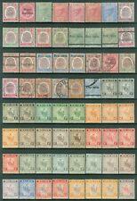 MALAYA : Negri Sembilan Nice selection of Better Mint & Used sgl & sets Cat £838