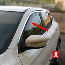 Deflettori Antiturbo Oscurati Nissan Qashqai J11 dal 2014 anche restyling 2017
