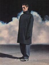 PUBLICITE ADVERTISING   1999    ARMANI  collection hiver