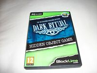 PC Hidden Object Game - The Blackwood Mansion Mystery - Dark Ritual