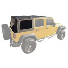 07-09 Jeep Wrangler Unlimited JK Replacement Soft Top with Tinted Rear Windows