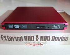 USB 3.0 external slot dvd case Sony 5500H Blu-ray Combo Optical Drive Brand New