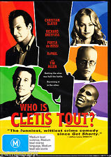 WHO IS CLETIS TOUT? * CHRISTIAN SLATER RICHARD DREYFUSS * NEW & SEALED DVD